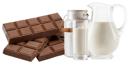De délicieux chocolats au lait chez Chocolats-de-Luxe.com